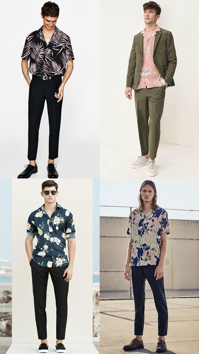 áo họa tiết nhiệt đới Zeanus, áo cộc tay nam Zeanus, áo cộc tay mùa hè, áo thun nam tại Hà Nội, áo thun nam cộc tay, áo phông cộc tay