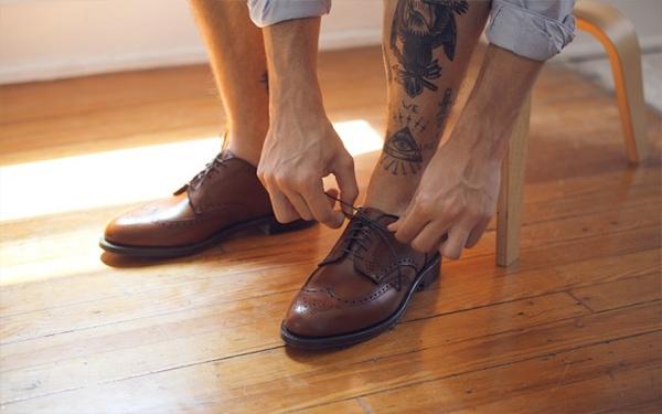 cách thử giày