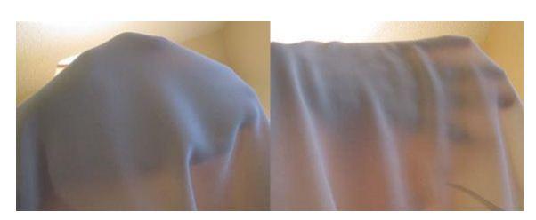 Kiểm tra độ mỏng dày của vải