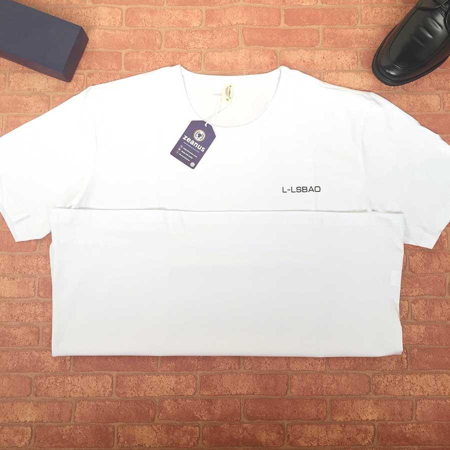 áo Thun Trơn Nam Big Size Trắng Asz 002 Quần áo Jean Denim Nam